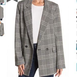 Free People Sporty Oversize Blazer Size S